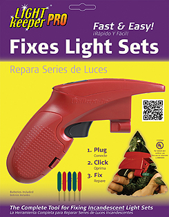 lightkeeper pro christmas light tester easily fix miniature christmas lights in one click