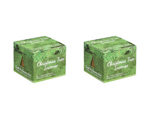 Two Christmas Tree Incense Packages